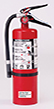 ABC Seamless Steel Cylinder Dry Chemical Fire Extinguishers