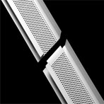 2-Piece Soffit Vent with 90 Degree Leg
