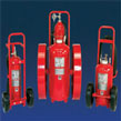 Wheeled Multi-Purpose Fire Extinguisher