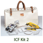 ICF Hot Knife Foam Cutter Starter Tool Kit