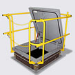 RHSR Roof Hatch Safety Rail System