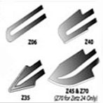Zetz Thermocutter Hot Knife Specialty Blades