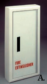 Panorama Fire Rated Fire Extinguisher Cabinet with Steel Trim